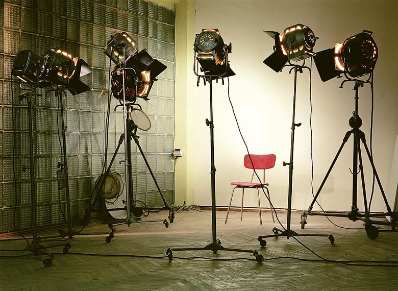 Ralph Hinterkeuser, Das Studio des Fotografen bei Azerbaijanfilm, 2003
