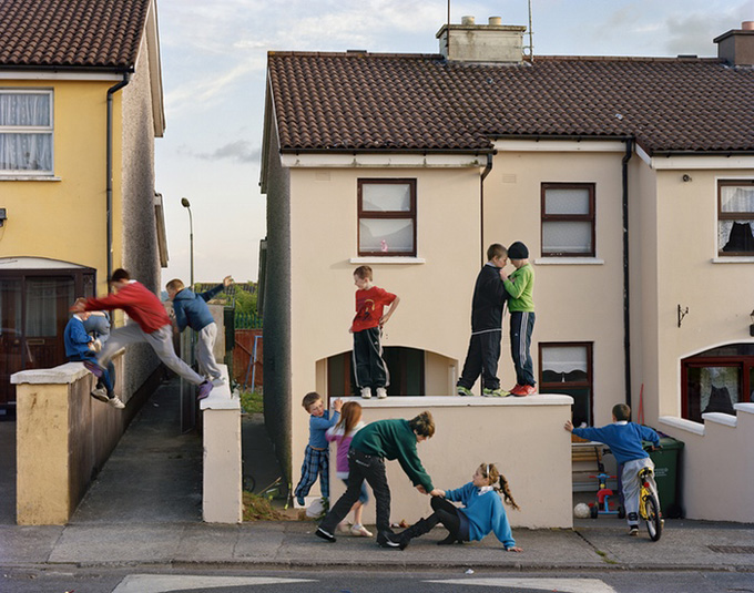 DougDubois, Jumping the Wall, Russell Heights, Cobh, Ireland, 2010