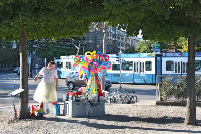 Gesche Cordes, Ein Sommertag in Zürich