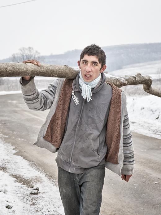 """Peter Elvin, aus der Serie """"Dorf an der Grenze / Roma in Nordungarn"""""""