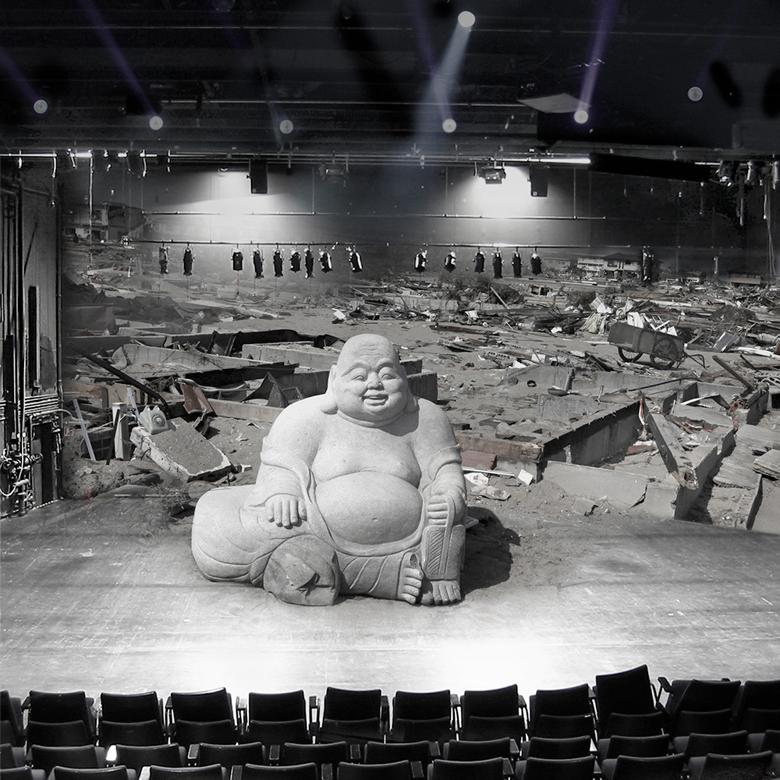 Peter Fischer-Piel, aus der Serie: Theaterlandschaften (Fukushima on stage), 2011