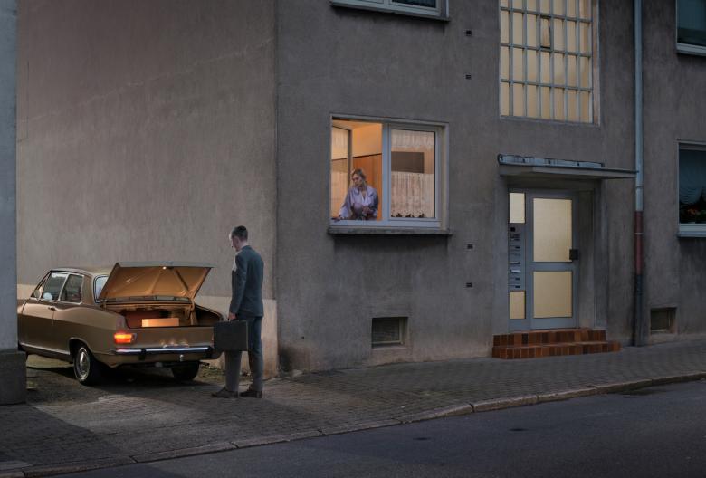 """aus dem Kalenderprojekt """"Blitzgeschichten"""", hier Motiv für Januar 2016"""