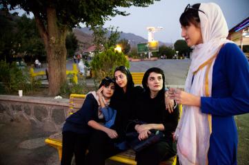 """Samaneh Khosravi, aus """"Among Women"""""""