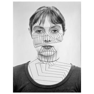 """Bild 1 - Kunstwerk """"Selbst"""" 1975"""
