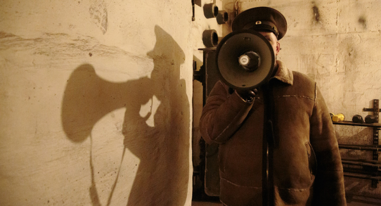 Carmen Dobre-Hametner: Consuming History, 2015, digitaler C-Print auf Transparentfolie