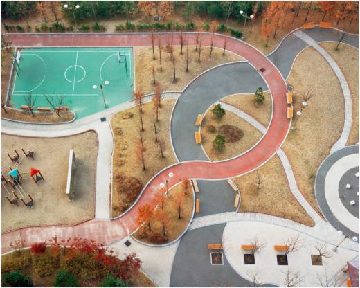 """Hosang Park, aus """"A Square"""", 2004-2007"""