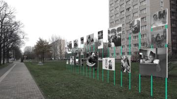 Kooperative für Darstellungspolitik, Displayentwurf Gerda Taro, 2016