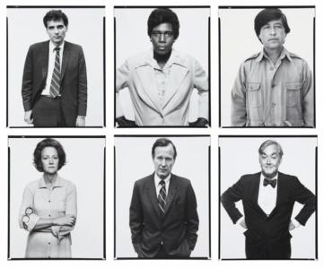 "Richard Avedon, aus ""The Family"", 1976"